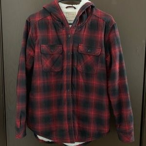 Jackets & Blazers - Boston Trader Plush lined Flannel
